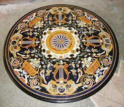 3and039 Mughal Arts Marble Inlay Marvelous Coffee Center Table Top Outdoor Furniture
