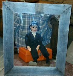 Vtg Old Charlie Mccarthy Ventriloquist Dummy Very Rare And Complete Set