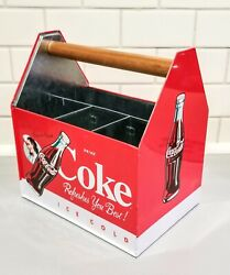 Coca Cola Tins Utensil/flatware And Napkin Holderparty Picnic Dinning Table