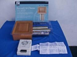 Record-a-chime Doorbell Chimes 3 Sound Options Nib