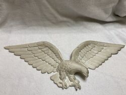 Vtg Brass? American Eagle Indoor outdoor Wall Hanging Decor