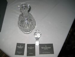 Waterford Maeve Brandy Decanter Brand New In Box 9 Inch.