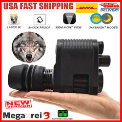 Ultimate Night Vision Rifle Scope Hunting Sight Infrared 850nm Ir Hd Camera Dvr