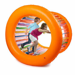 Hoovy 51 Large Inflatable Roller Wheel Outdoor Toy For Kids And Adult Activities