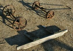 Original Ihc International Mccormick Model M Gas Engine Hit Miss Trucks