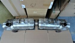 Porsche 997.1 Turbo S Gt 2 2007 08 Exhaust Oem Used Take Of Exhaust System