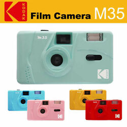 Kodak Vintage Retro M35 35mm Reusable Film Camera Pink Purple Yellow Green Film