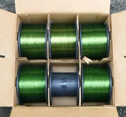 Phelps Dodge Sy Bondeze 1 Green Bondable Magnet Wire 25 Awg 45.0 Lbs.