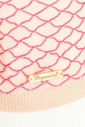 Rrp Andeuro500 Authentic Dsquared2 Knitted Top Mod.s72ha0422 Size L