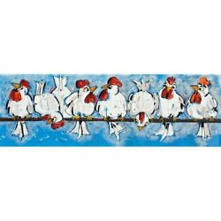 Chicken Hens Diamond Painting Cool Design Full Square Drills Embroidery Displays