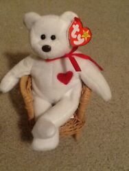 Beanie Babies Valentino Brown Nose .. Tush Tag And Hang Tag Different Dates