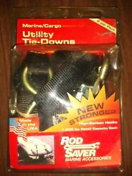 Rod Saver Jet Ski Motorcycle Atv Snowmobile Tie-downs Rated 1500 Pounds Each 2