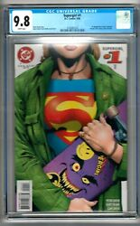 Supergirl 1 1996 Cgc 9.8 White Pages David - Frank  1st Print Buzz