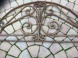 Antique Wrought Iron Archway Decoration
