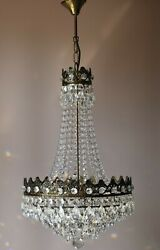 Empire Vintage Crystal Chandelier French Home And Living Lighting Pendants Lamps