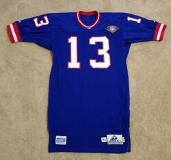 New York Giants 13 Game Issued Worn 1994 Vintage Apex 75th Jersey 44 Long