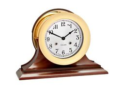 Authorized Dealer New Chelsea 6 Shipstrike Clock With Traditional Base