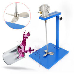 New Andphi12mm Stainless Steel 5 Gallon Pneumatic Paint Mixer 50r-2200r/min 6-8kg/mpa