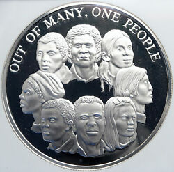 1978 Jamaica Unity Out Of Many - One People Old Proof Silver 10 Coin Ngc I87825