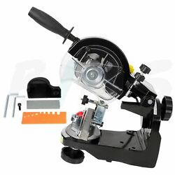 3400 Rpm Electric Automatic Compact Chainsaw Chain Grinder Bench Sharpener