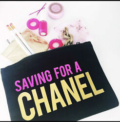 Saving for Chanel Cosmetic bag $10.00