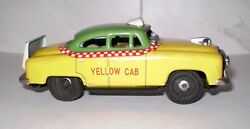 Vintage Yellow Cab Japanese Tin Friction Sss Toys From Attic Find