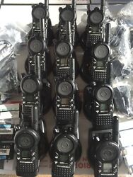 12 Motorola Cls1410 2-way Radios With Single Charger Use Excellent Condition.