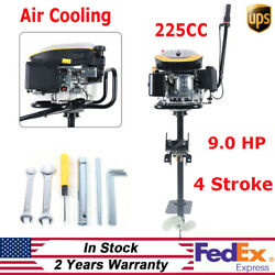 225cc 4 Stroke 9.0 Hp Outboard Motor Boat Engine Marine Motor Tci Air Cooling Sy