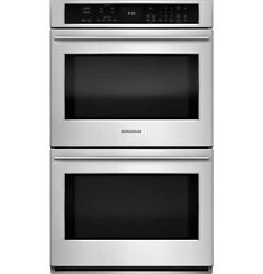 Monogram Zet9550shss 30 Inch Double Electric Wall Oven In Stainless Steel
