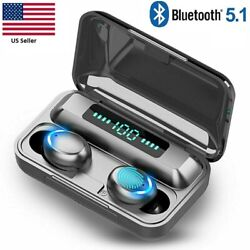 Bluetooth Earbuds for iPhone Samsung Android Wireless Earphones Waterproof F9 32 $11.99