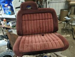 Passenger Side Front, Tchev1500 1992 Seat Only, Front 222700