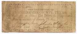 Texas C.s.a. State Nacogdoches County Nacogdoches M-9 2 Sep 24 1862 F Z