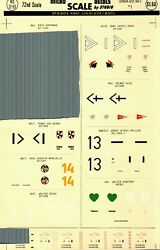 1/72 Micro Scale Decals 72-53 German Aces Ww2 1 - Incomplete