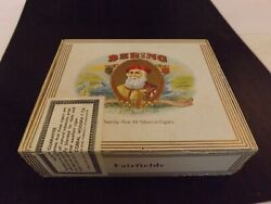 Bering Fairfields Cigar Box From Tampa Florida Usa 3 For 1.00 Good Condition