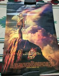 Lot Of 4 The Hunger Games 27x40 Original Theater Double Sided Movie Poster