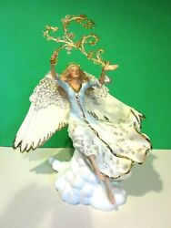 Lenox Hope For The Millennium Angel Limited Edition Sculpture New In Box Withcoa