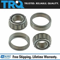 Trq Front Outer Wheel Bearing And Race Set Pair For Chevy Gmc Toyota Dodge Benz