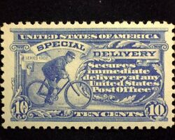 Hsandc Scott E11 10 Cent Special Delivery Xf Nh Mint Us Stamp