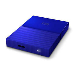 My Passport 1TB Blue Manufacturer Refurbished Portable Hard Drive by Weste WD