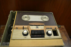 Mid-century Rca Victor Orthophonic High Fidelity Record Tape Recorder Reel