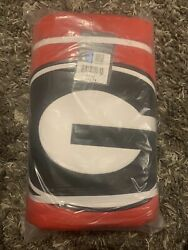 Georgia Bulldogs Sweatshirt Blanket 54x84quot; *FREE SHIPPING*