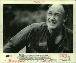 1988 Press Photo Actor Gene Hackman In Bat21 From Tri-star Pictures