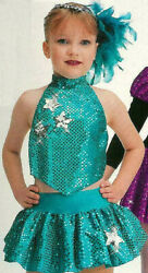 Group Lot 4- Adult Small Art Stone Dance Costume Jazz Tap Tomorrows Star