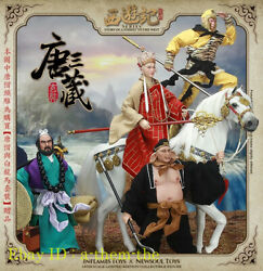 In-stock @ A-team-the Inflames Toys Journey To The West Tang Monk Set Of 5 New