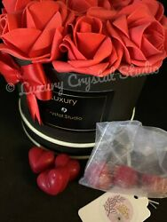 Forever Flowers In A Box Foam Valentine Roses Wax Melts Fragrance/perfume Dupes