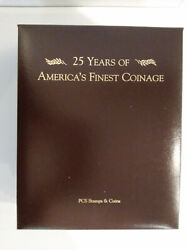 25 Years Of America's Finest Coinage Pcs Volume 1 Proof Sets 1968 - 1980 Mg