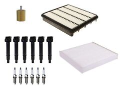 Denso Filters 6 Ignition Coils 6 Spark Plugs Tune Up Kit For Toyota 4.0l V6