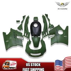 Us Stock Matte Green Injection Fairing Fit For Honda 1991-1994 Cbr600f2 A024