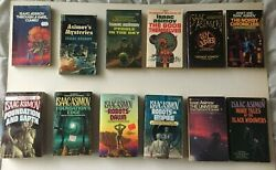 Lot Of 24 Isaac Asimov Vintage Paperbacks Collection Lots Of First Printing