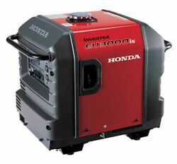Read Discription Honda Eu3000is Portable Gas Powered Generator Inverter